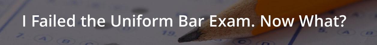 Failed Bar Exam