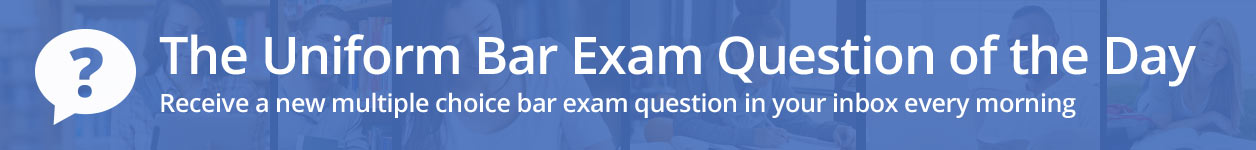 Sample Bar Exam Questions