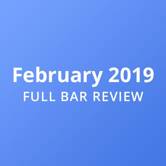 Full Bar Review – 2019 February Exam